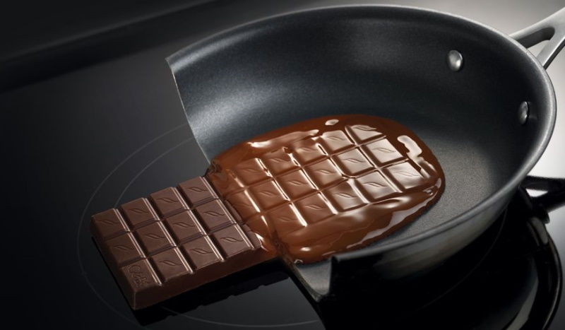 Induction-pan-with-chocolate