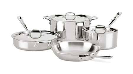 image of All-Clad Tri-Ply Induction Compatible Set