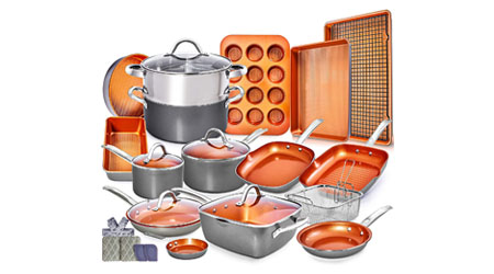 image of Home Hero 23pc Induction Cookware Set
